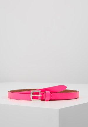 Gürtel - neon pink