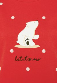 Dorothy Perkins - CHRISTMAS POLAR BEAR SWEATSHIRT - Sweatshirt - red - 2