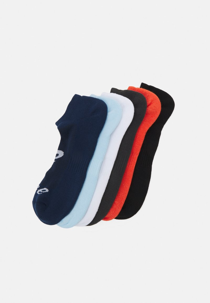 ASICS - INVISIBLE SOCK 6 PACK UNISEX - Sportsocken - white/black/grey/peacoat/smoke blue/marigold
