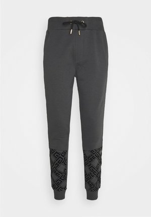 DANTOS - Tracksuit bottoms - charcaol