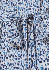 MY TRUE ME TOM TAILOR - SHIRT DRESS WITH BELT - Shirt dress - blue aquarelle - 5