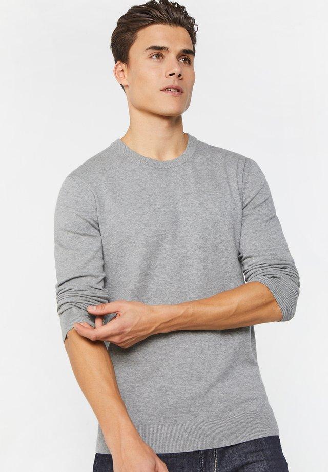 Trui - blended light grey