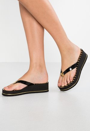 ENZY - Chanclas de dedo - black