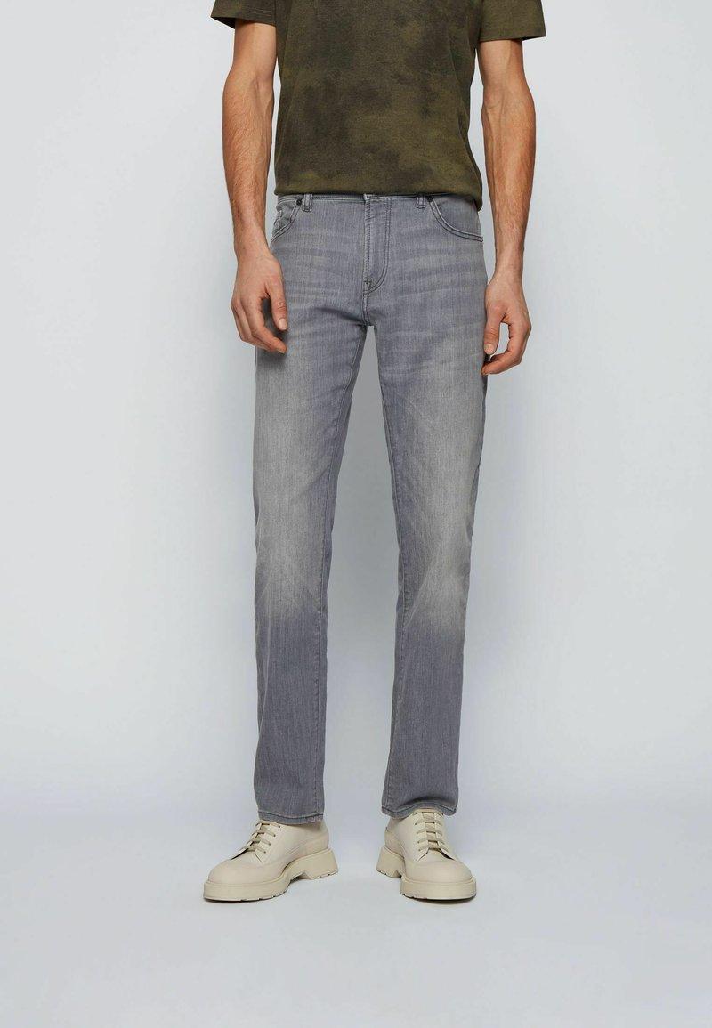 BOSS - Straight leg jeans - grey