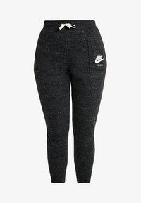 Nike Sportswear - GYM PANT PLUS - Tracksuit bottoms - black/sail - 3