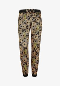 Ed Hardy - TIGER CROUCH BAROQUE TRACK PANT - Tracksuit bottoms - black - 4