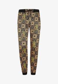 Ed Hardy - TIGER CROUCH BAROQUE TRACK PANT - Pantaloni sportivi - black - 4