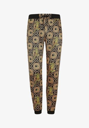 TIGER CROUCH BAROQUE TRACK PANT - Tracksuit bottoms - black