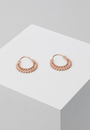 EARRINGS SIGNE - Earrings - rose gold-coloured