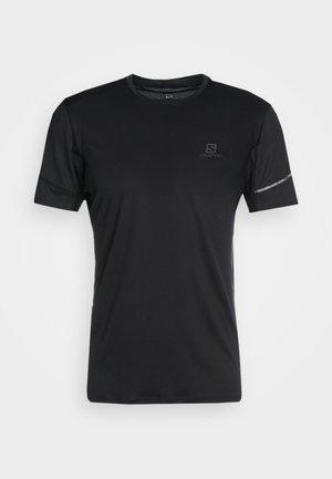 AGILE TEE - Basic T-shirt - black