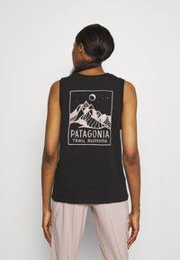 Patagonia - RIDGELINE RUNNER MUSCLE TEE - Top - black - 2