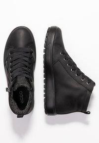 ECCO - SOFT 7 TRED - Sneakers alte - black - 3