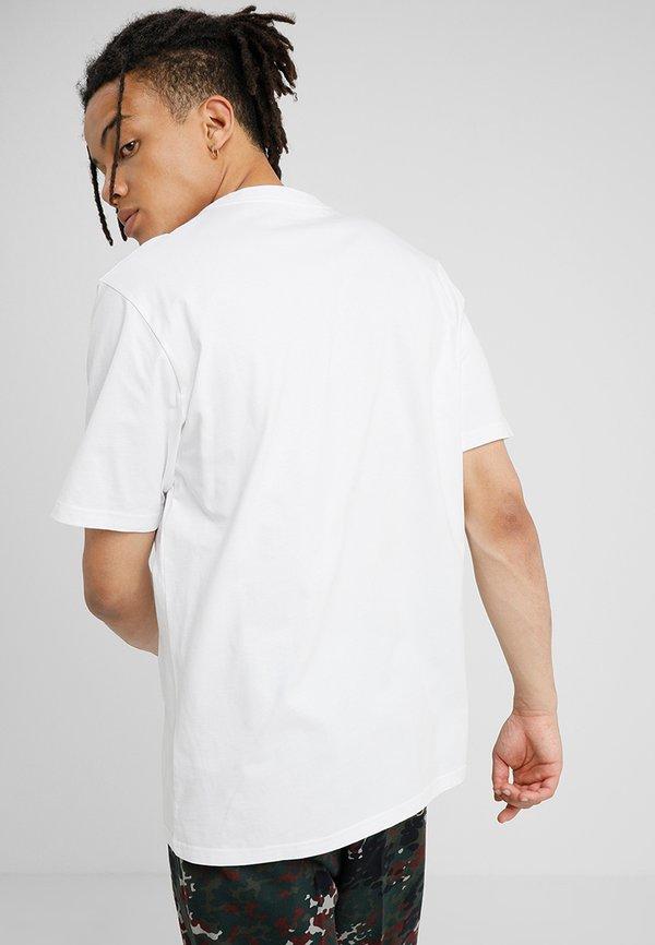 Carhartt WIP BASE - T-shirt basic - white/biały Odzież Męska SZFB