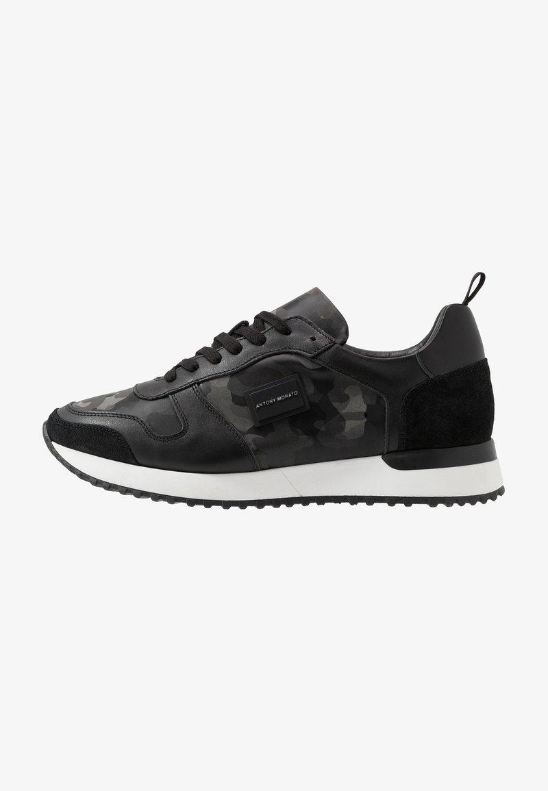 Antony Morato - RUN METAL CAMO - Sneakers laag - steel