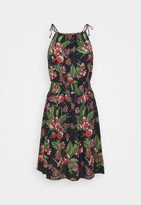 Pieces - PCMANURA STRAP DRESS - Sukienka letnia - black - 4