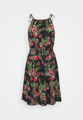 PCMANURA STRAP DRESS - Vestito estivo - black