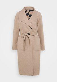 Vila - VIJUICE ZEBRA COAT - Classic coat - natural melange - 6