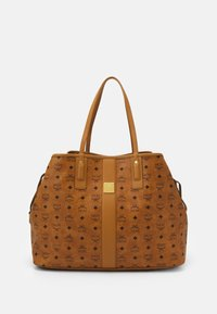 MCM - SHOPPER PROJECT VISETOS SET - Handbag - cognac - 1