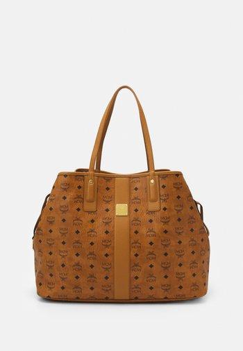 SHOPPER PROJECT VISETOS SET - Handbag - cognac