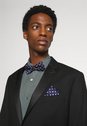 ONSTREY  PATTERN BOWTIE SET - Pocket square - dark navy/pink