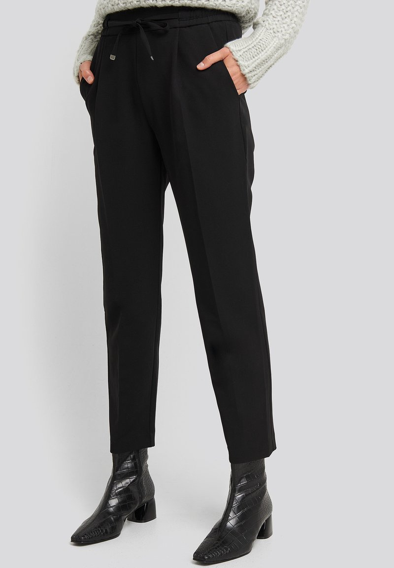 NA-KD - Trousers - black