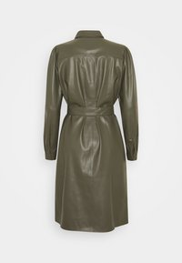 Freequent - HARLEY - Shirt dress - olive night - 1