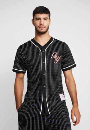 FUCKYOU BASEBALL TEE - Shirt - black/white