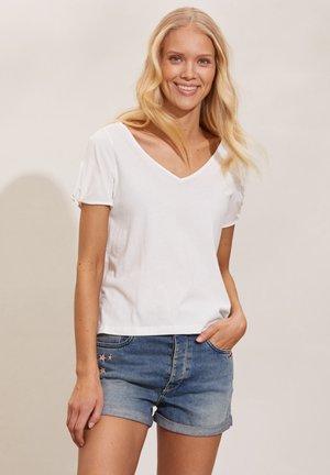 KALEI - Print T-shirt - light chalk