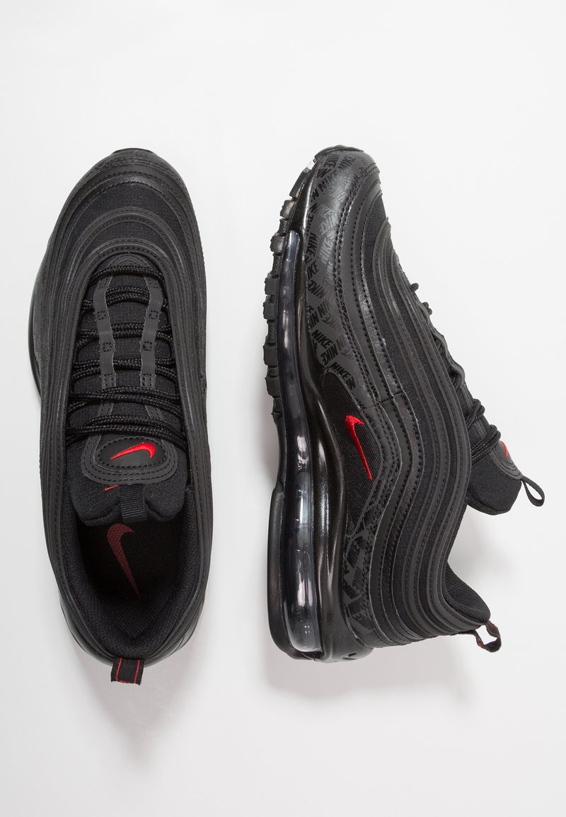 Automatización Cívico Mentor  Nike Sportswear AIR MAX 97 - Trainers - black/university red/black - Zalando .ie