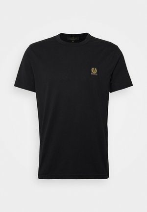 SHORT SLEEVED - Jednoduché triko - black