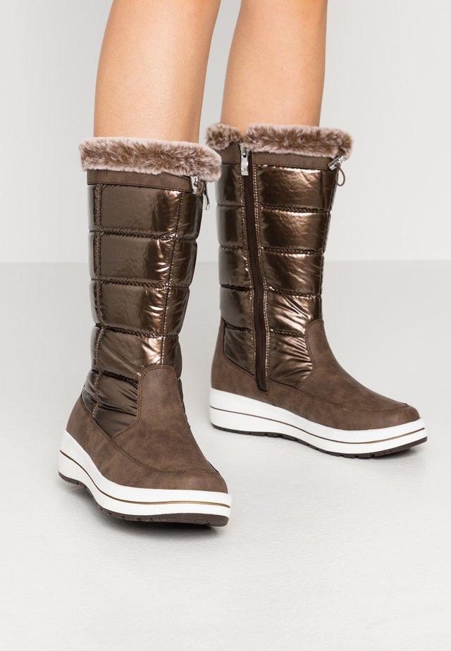 Zimní obuv - bronce