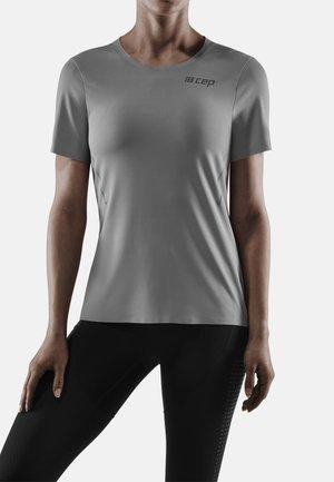 RUN - Print T-shirt - grey