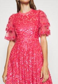 Needle & Thread - SEREN MINI DRESS - Koktejlové šaty/ šaty na párty - watermelon pink - 5