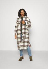Object Tall - LONG COAT  - Classic coat - white - 1