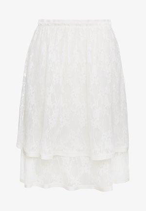 A-lijn rok - crystal white