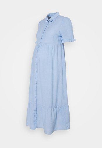 PCMTALA DRESS - Sukienka koszulowa - vista blue