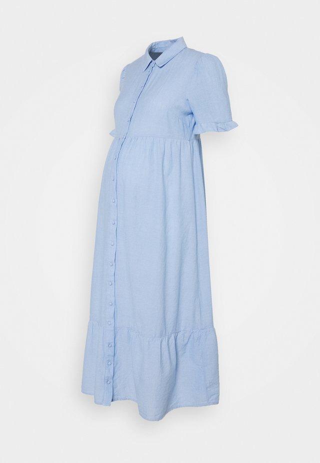 PCMTALA DRESS - Shirt dress - vista blue