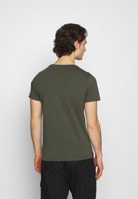 Replay - CREW TEE 3 PACK - Basic T-shirt - cold grey/ochre/military - 2