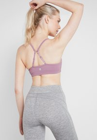 Cotton On Body - WORKOUT YOGA CROP - Sujetador deportivo - mauve - 2