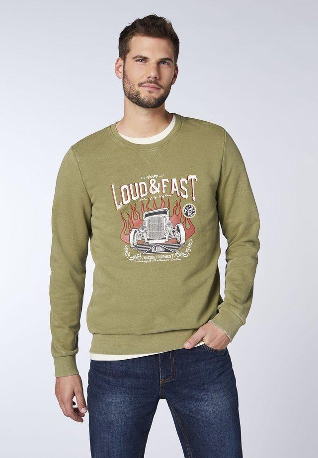JORAH REGULAR FIT - Sweatshirt - lizard
