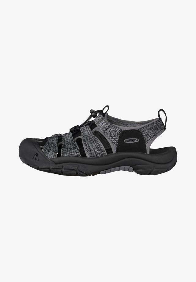 NEWPORT H2 - Walking sandals - black/steel grey