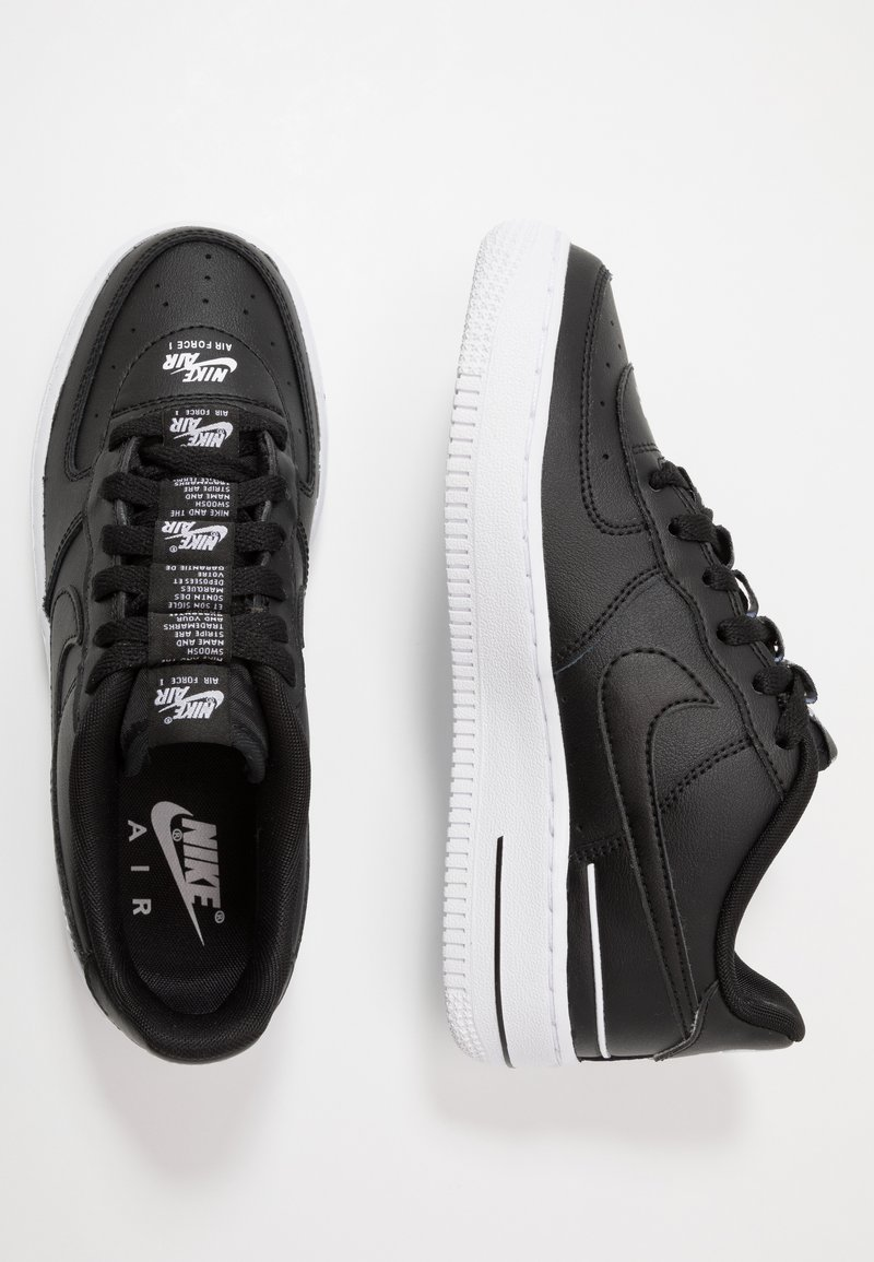 Nike Sportswear - AIR FORCE 1 LV8 3 - Trainers - black/white