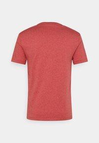Polo Ralph Lauren - CUSTOM SLIM FIT JERSEY CREWNECK T-SHIRT - Jednoduché triko - venetian red heather - 1