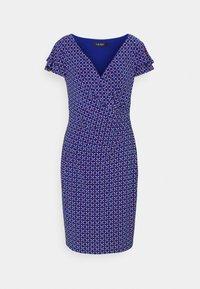 Lauren Ralph Lauren - PRINTED MATTE DRESS - Shift dress - french ultramarin - 4