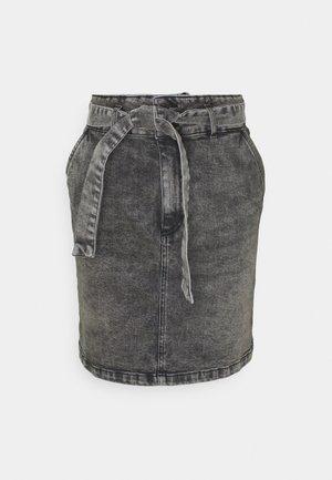 ROSITA - Jeansnederdel/ cowboy nederdele - gris anthracite