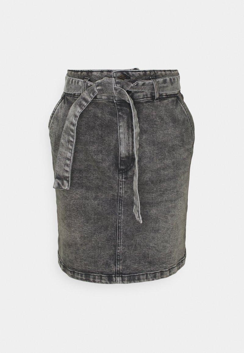NAF NAF - ROSITA - Blyantnederdel / pencil skirts - gris anthracite