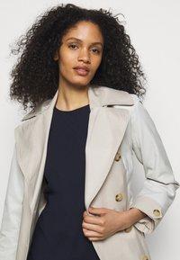 Lauren Ralph Lauren - LUXE TECH DRESS - Shift dress - lighthouse navy - 3