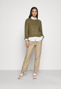 ONLY - ONLKATLA  - Jumper - covert green - 1