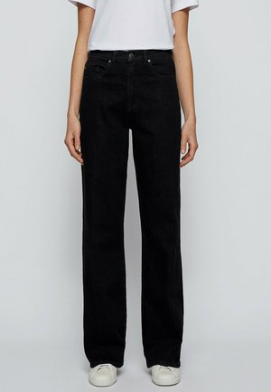Flared Jeans - anthracite