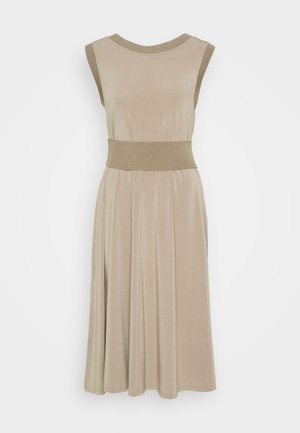 CREATIVO - Jersey dress - dove grey